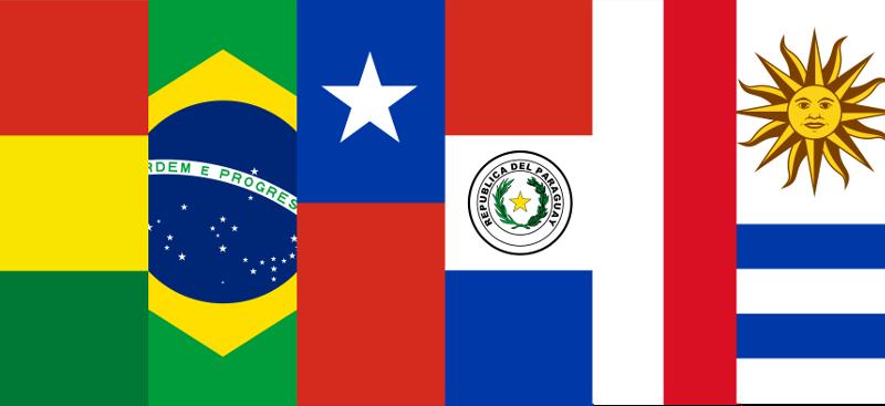 Banderas latinoamericanas